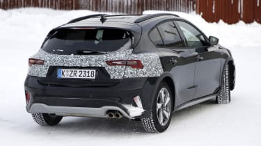 2021 Ford Focus development model - rear