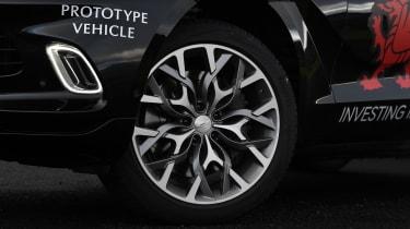 Aston Martin DBX prototype alloy wheel