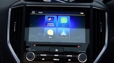 Subaru Forester touchscreen