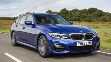 BMW 3 Series Touring driving