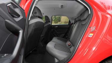 Audi A1 2019 rear seats