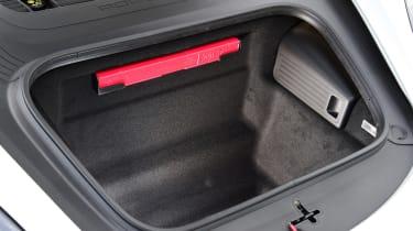Porsche 718 Cayman coupe front boot