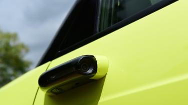 Honda e hatchback door cameras