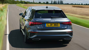 Audi A3 Sportback hatchback rear driving