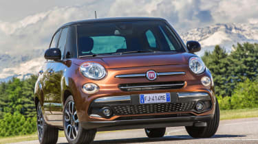 ...combined with the style of the iconic Fiat 500 citycar