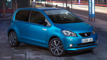 2019 SEAT Mii Electric - Front 3/4 static view