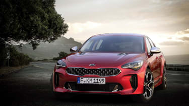 The new Kia Stinger is the brand's most powerful car ever