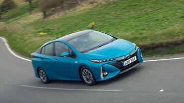 Thanks to its electric range, the Prius Plug-in has an incredible official fuel-economy figure of 238mpg