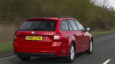 It's based on underpinnings shared with the Volkswagen Golf, as with the Audi A3 and its bigger brother, the Skoda Superb