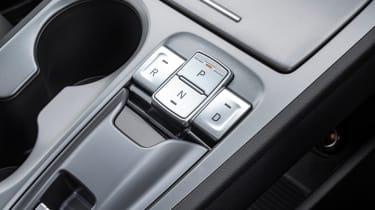 Hyundai Kona Electric SUV centre console