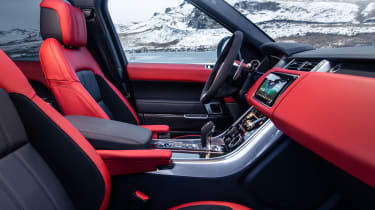 Range Rover Sport HST special edition side view interior