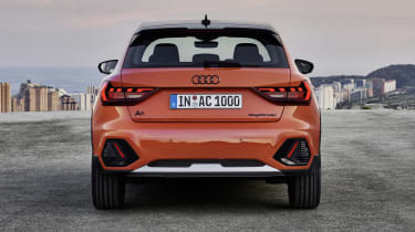 Audi A1 Citycarver rear end