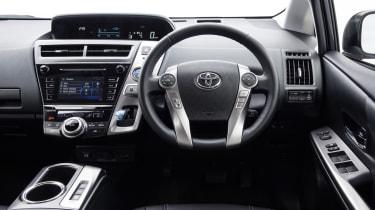 Toyota Prius+ MPV steering wheel