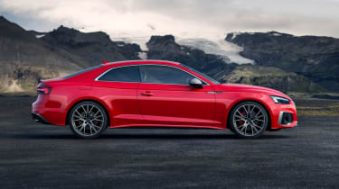 Audi S5 Coupe side static