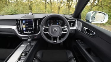 Volvo XC60 - interior 3/4 view