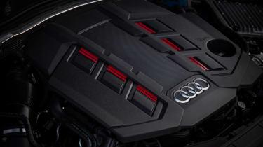 Audi S4 saloon engine