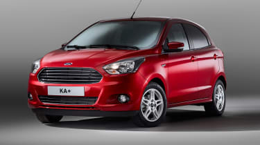 Ford fits every Ka+ with electric windows, Bluetooth connectivity and front electric windows