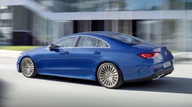 2021 Mercedes CLS - rear 3/4 driving