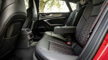 Audi RS7 rear seats