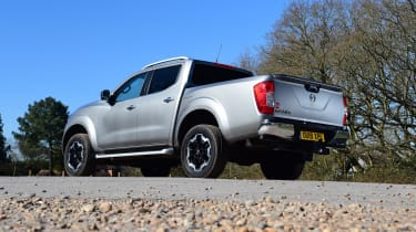Nissan Navara - rear 3/4 static