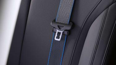 BMW iX5 Hydrogen - seat belt