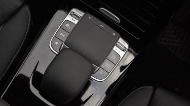 Mercedes CLA Shooting Brake touchpad