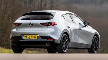 Mazda3 hatchback rear 3/4 static