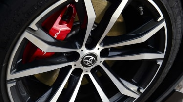 Toyota Supra alloy wheel