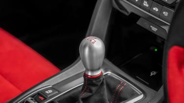 Honda Civic Type R gearlever