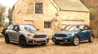 As with every MINI, there are numerous ways to personalise the Countryman to fit your requirements