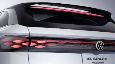 Volkswagen ID. Space Vizzion concept tail-light