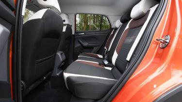 Volkswagen T-Cross SUV rear seats