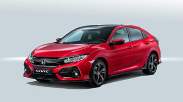 With angular lines and large air-intakes, every model has a dynamic appearance