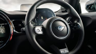 2021 MINI hatchback steering wheel