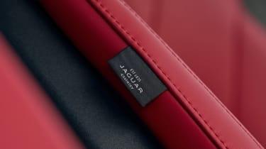 Jaguar F-Pace SUV seat upholstery