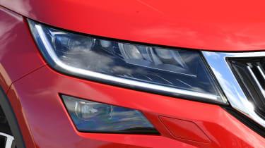Skoda Kodiaq L&K close up