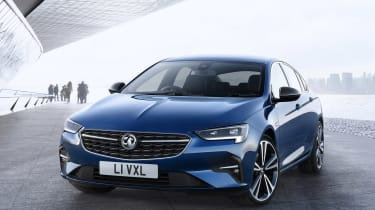Vauxhall Insignia facelift front view