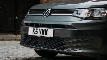 Volkswagen Caddy MPV front end detail