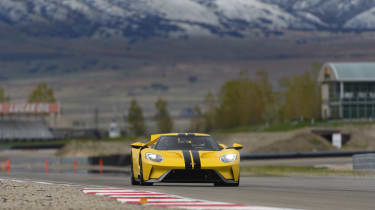 This is far from the retro-flavoured rocketship of the previous Ford GT, though