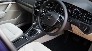 Volkswagen Golf hatchback steering wheel