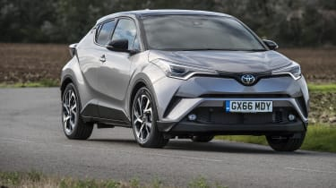 The name C-HR stands for Coupe High Rider, in reference to its tall but sleek shape