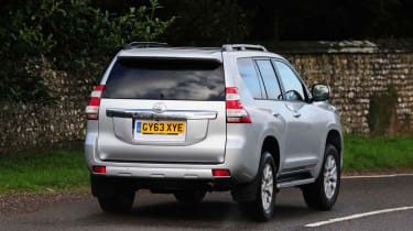 Although a three-door, five-seater model is offered, most Land Cruiser trims include five doors and seven seats