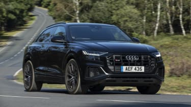 Audi SQ8 - front 3/4 view