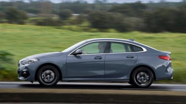 BMW 2 Series Gran Coupe saloon side panning