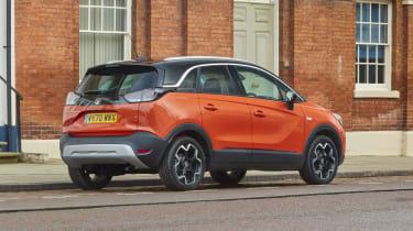 2021 Vauxhall Crossland SUV - rear 3/4 static