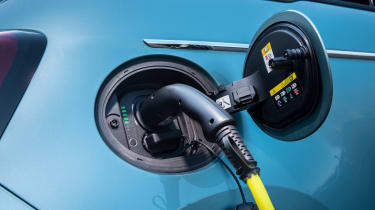 Fiat 500 hatchback charging cable