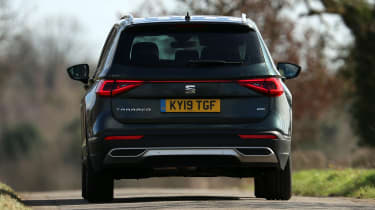 SEAT Tarraco SUV rear