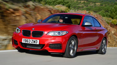 The BMW 2 Series is the two-door replacement for the BMW 1 Series Coupe