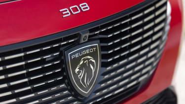 Peugeot 308 SW estate grille