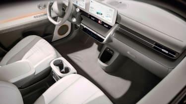 Hyundai Ioniq 5 - interior high view